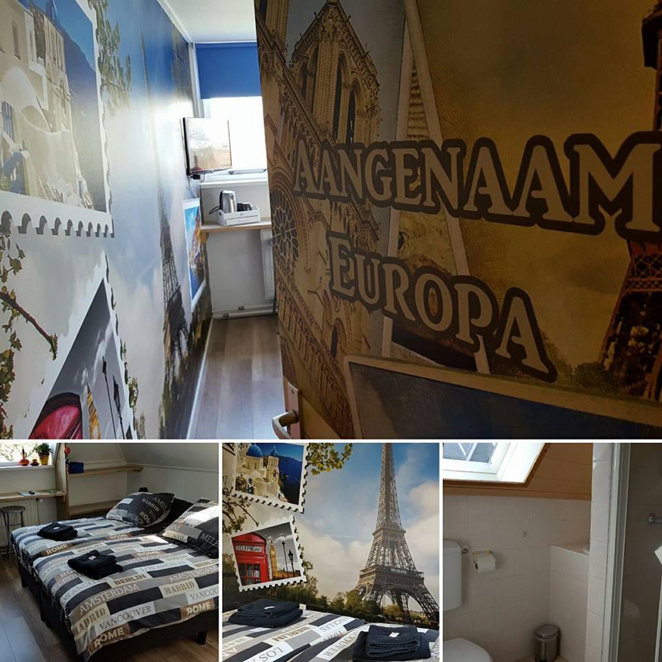 B&B kamer Aangenaam Europa