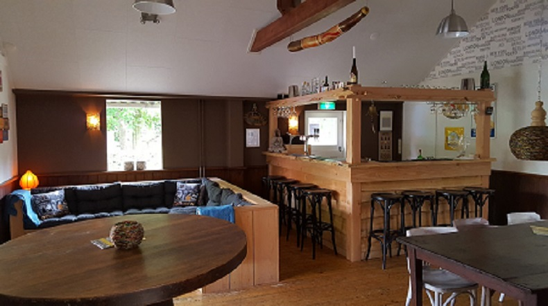 Auberge le Monde, ATB vriendelijke bar van Aangenaam - Olde Horst